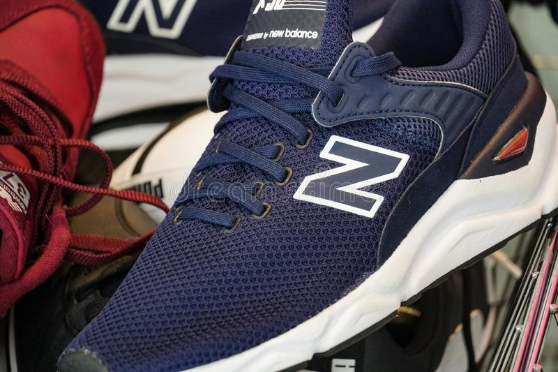 New Balance shoes stock illustration