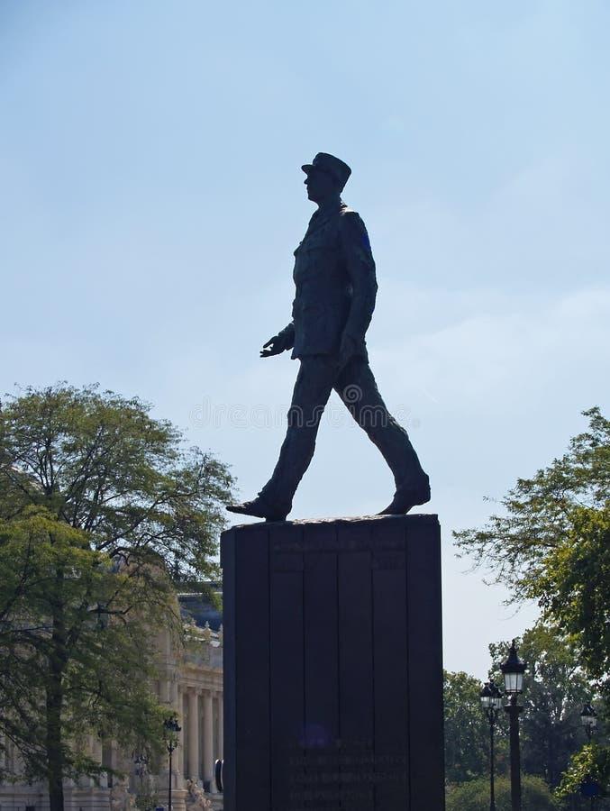 Paris, France Monument à Charles de Gaulle photographie stock