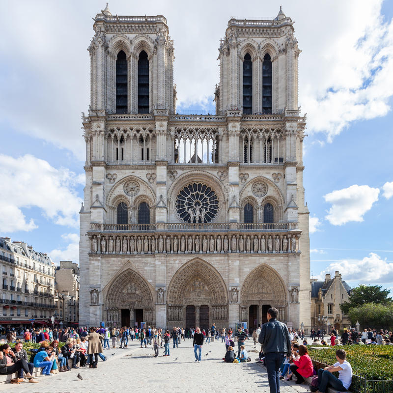 Download PARIS, FRANCE - OCTOBER 2: Notre Dame Cathedral On October 2, 20 Editorial Photo - Image: 28460326