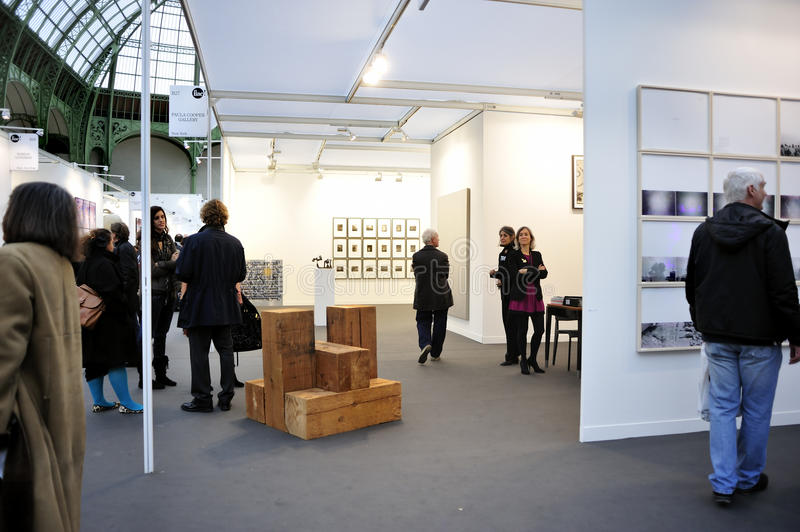 Paris, France, People Visiting Annual Contemporary