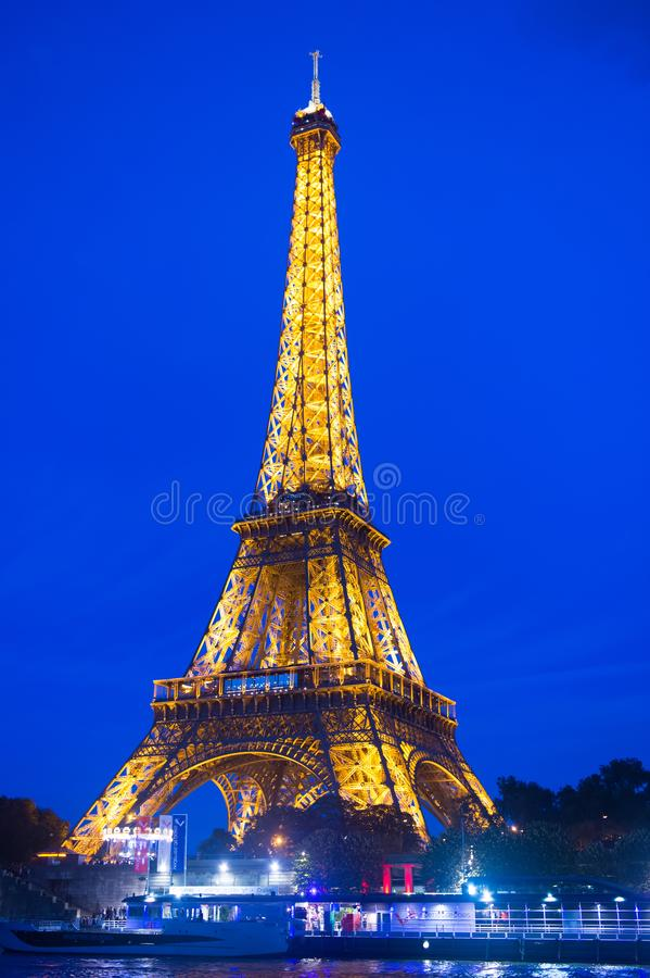 Paris, France - September 23, 2017: eiffel tower. Icon of france. Travel to france. Make a stop in Paris. Journey to the stock images