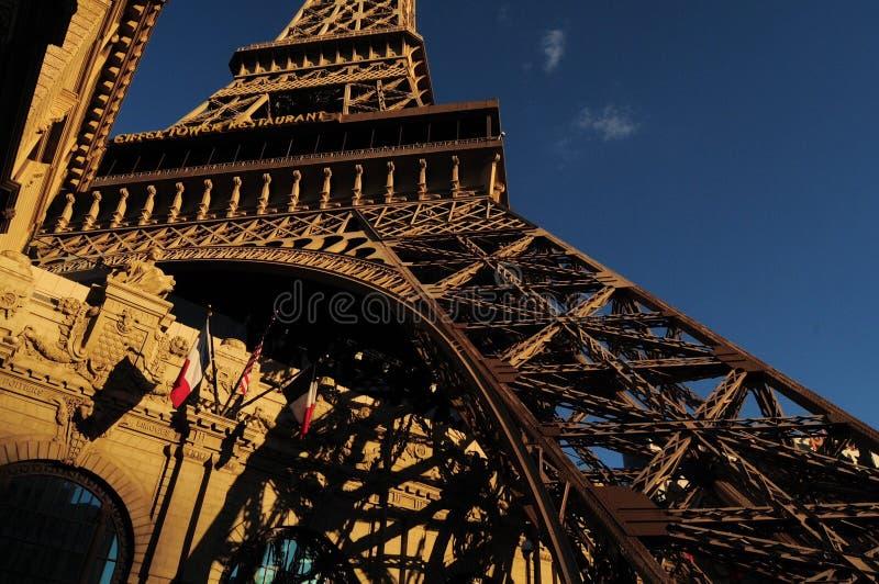 Paris Frankrike i Las Vegas arkivbild