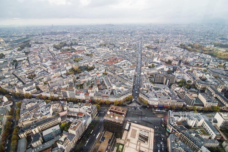 Paris Frankrike November 2017 Areal Sikt Av Paris Med Eiffeltorn I Avstandet Redaktionell Arkivbild Bild Av Rott Inget 103923837