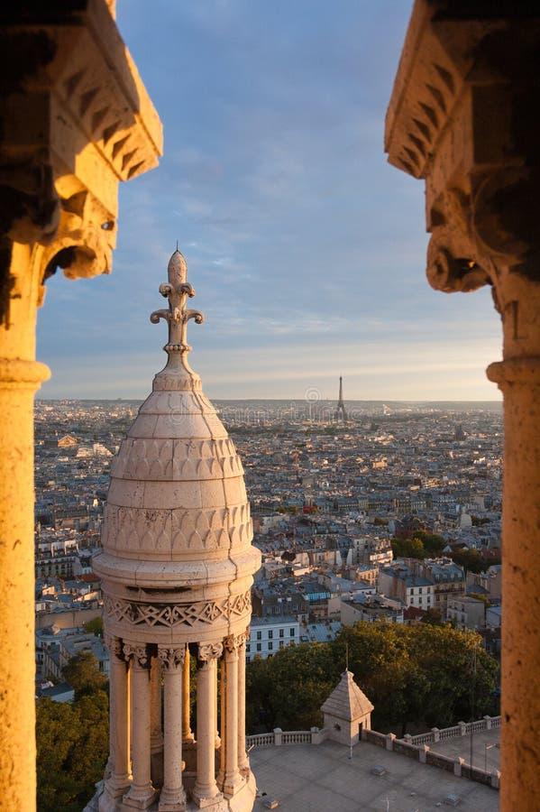 Free Paris From The Basilique Du Sacre-Coeur Stock Image - 18283401