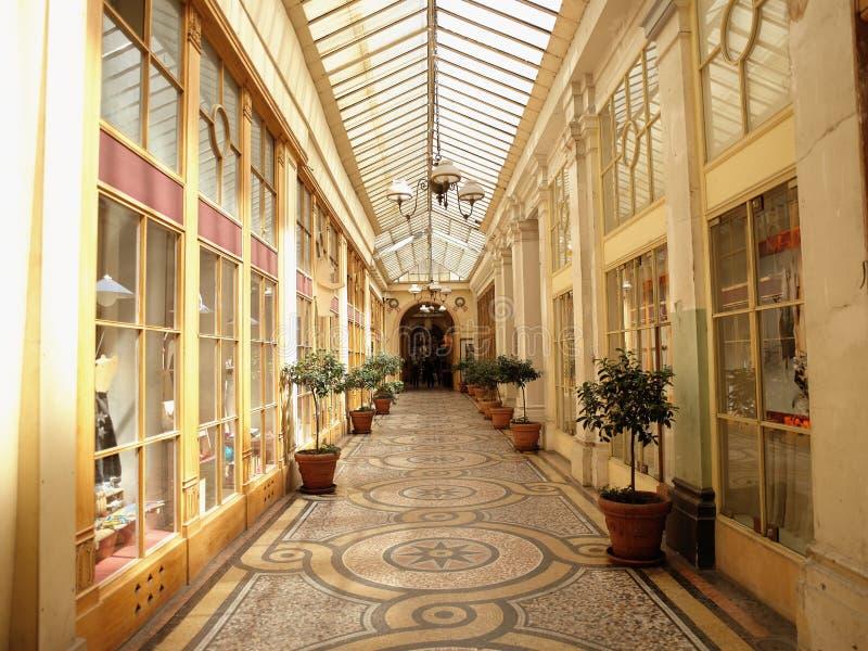 Paris - Galerie Vivienne stockbild