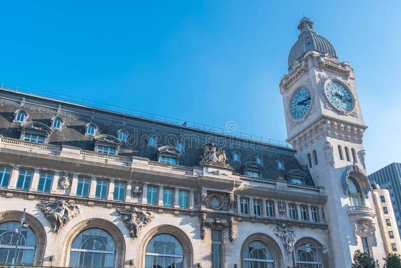 Paris, gare De Lyon image libre de droits