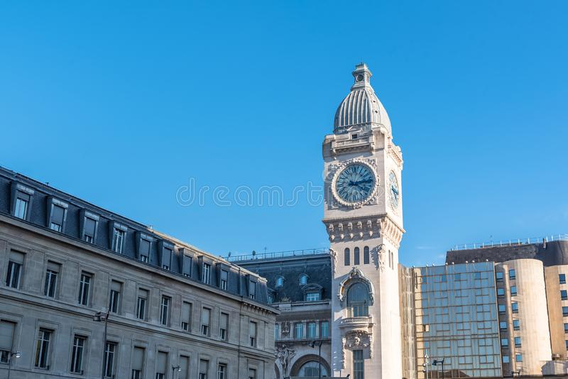 Paris, gare De Lyon photo libre de droits