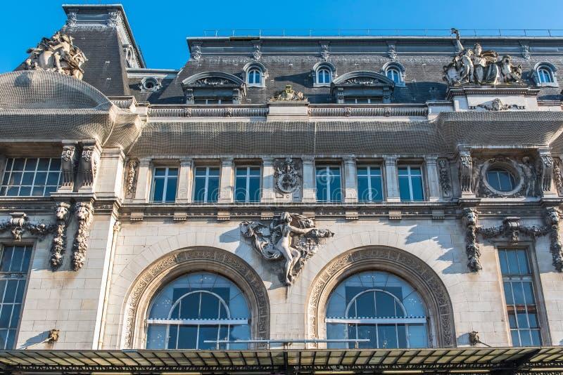 Paris, gare De Lyon image stock