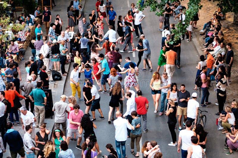Paris gataplats 4 arkivfoto