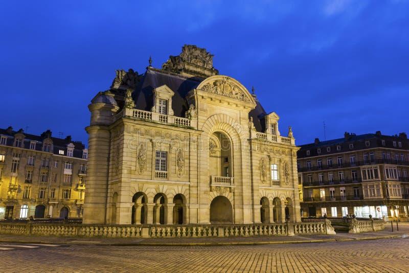 Paris Gate in Lille in France. Historic Paris Gate in Lille in France royalty free stock image