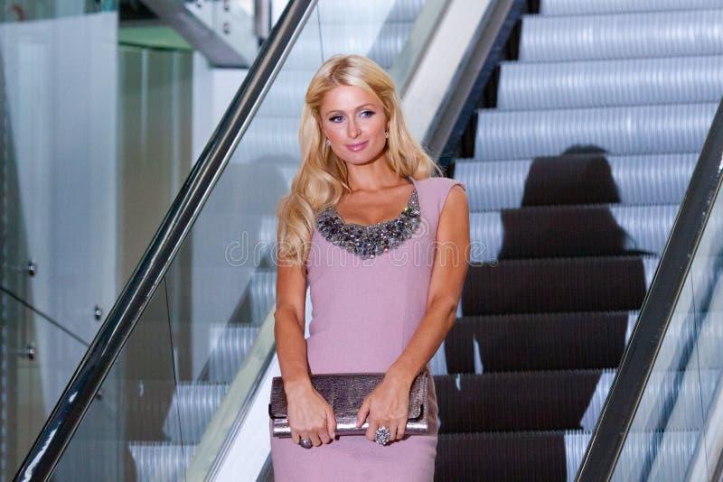 Download Paris Hilton editorial stock photo. Image of interior - 21555278