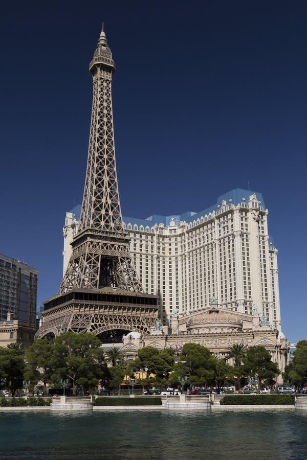 Paris hotel and casino las vegas royalty free stock images