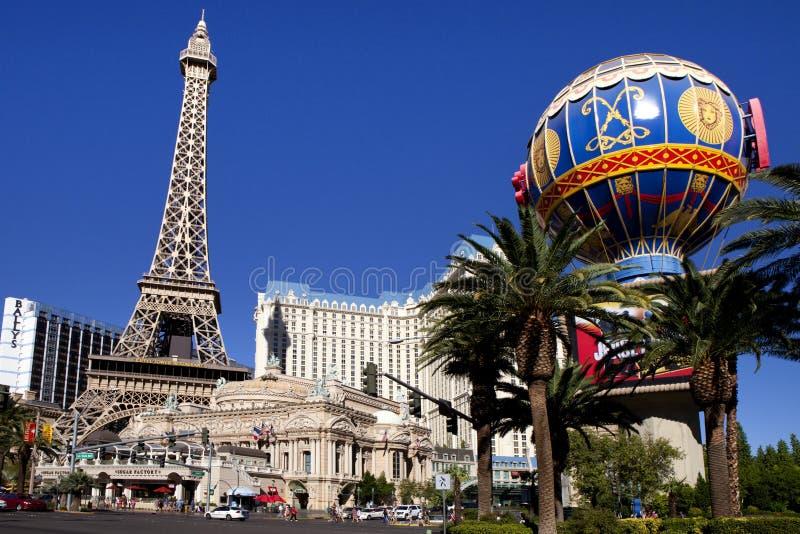 Paris Hotel and Casino in Las Vegas, Nevada stock photos
