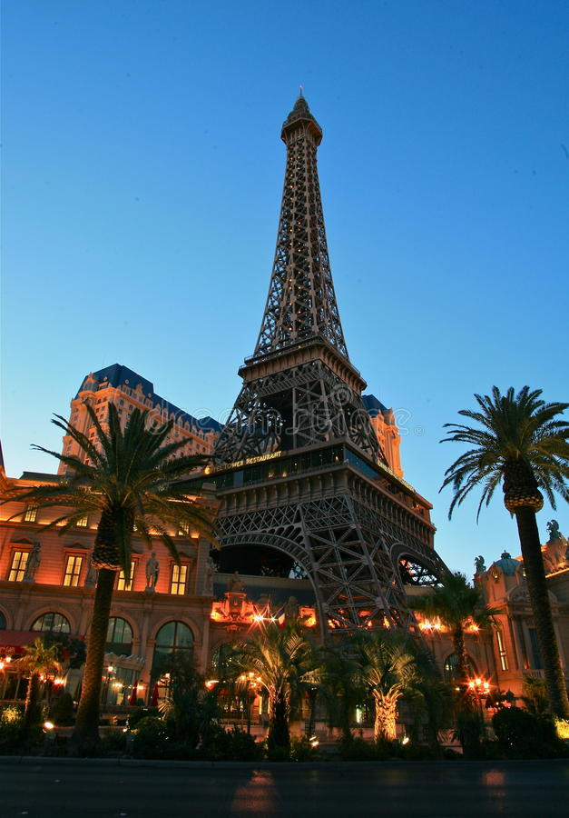 Paris-Hotel Las Vegas lizenzfreie stockfotos