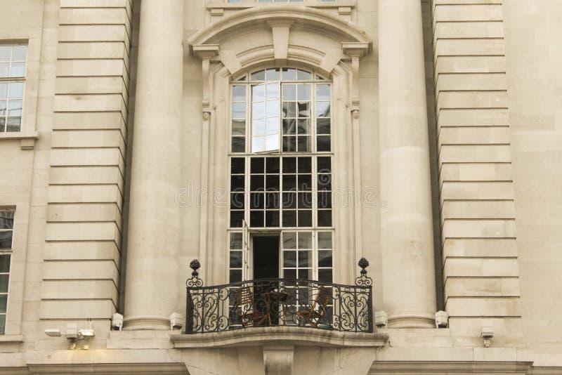 Paris i London royaltyfria bilder