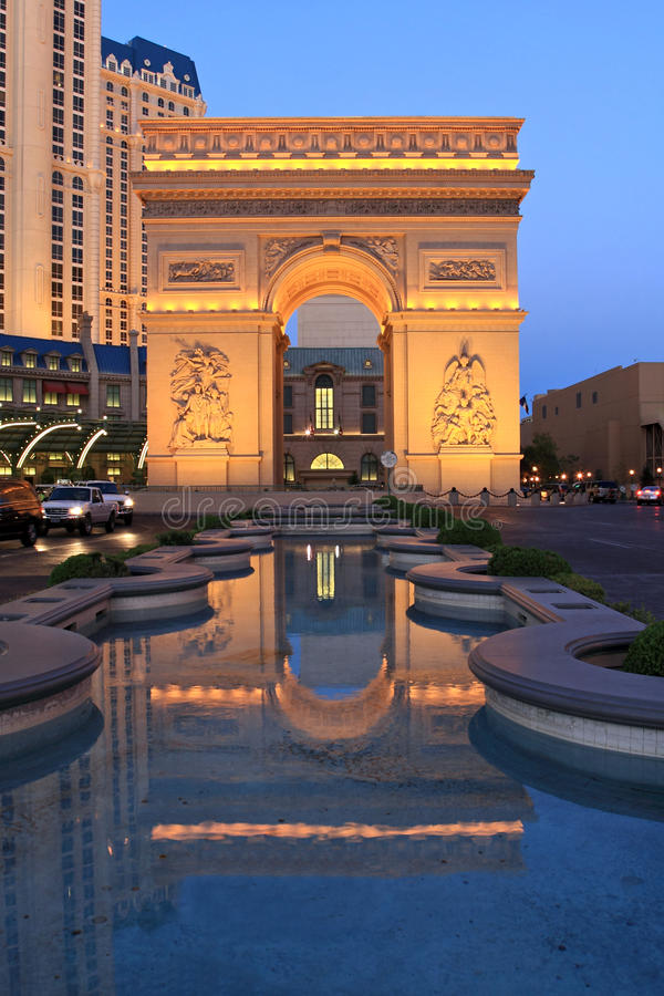 Free Paris In Las Vegas At Twilight Royalty Free Stock Images - 14429869