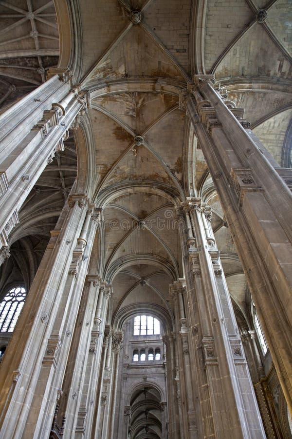 Download Paris - Indoor Of Saint Eustache Church Stock Image - Image: 21230561