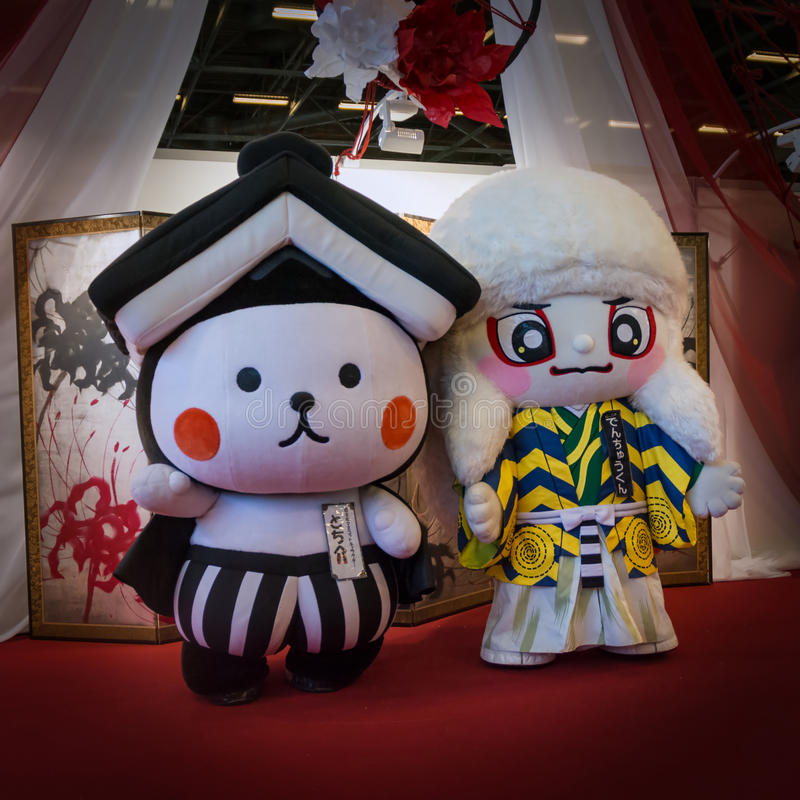 Paris - Japan expo 2017 royaltyfri bild