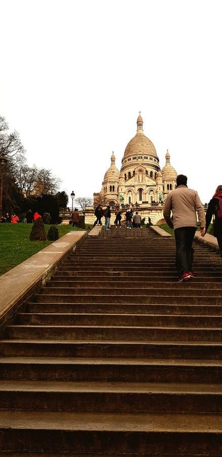 Paris-Kirche stockbild