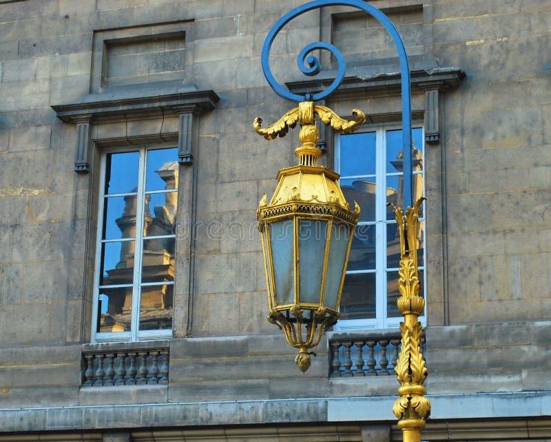 Paris lampa arkivbild