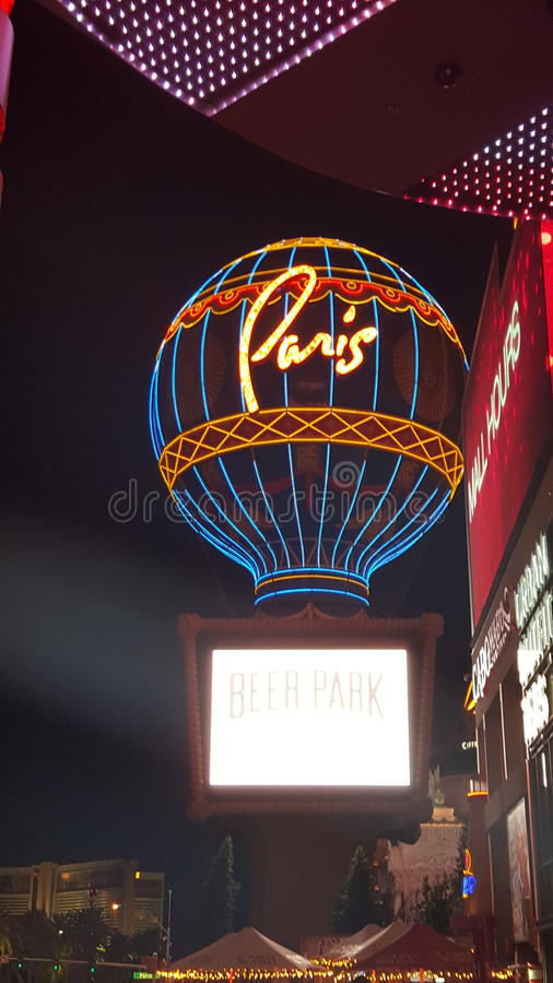 Paris Las Vegas royalty free stock photography