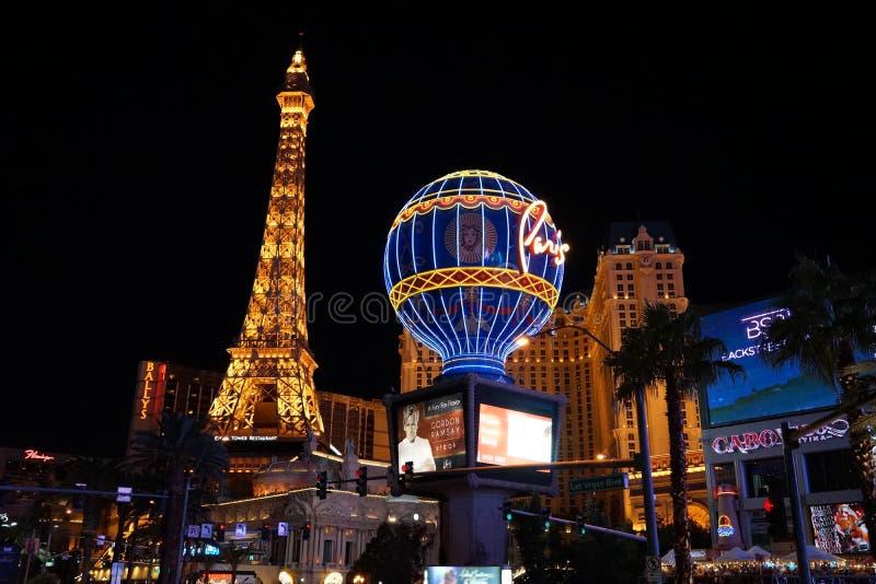 The Paris Las Vegas Hotel & Casino 15 stock photography