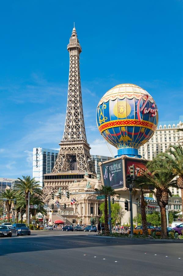 Paris Las Vegas in Las Vegas, Nevada, USA stock photo