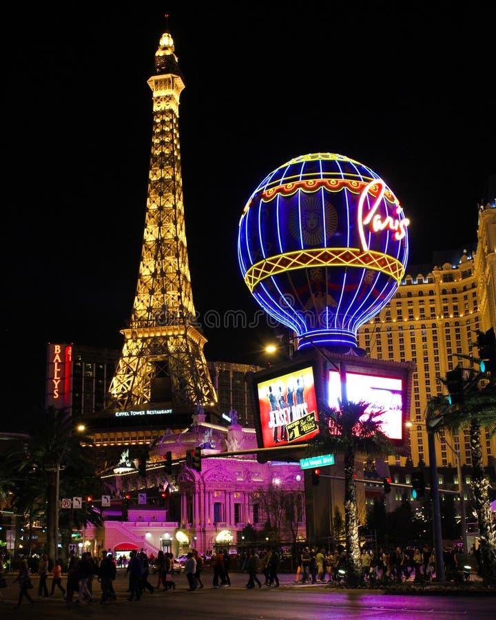 Paris Las Vegas, Nevada photo stock