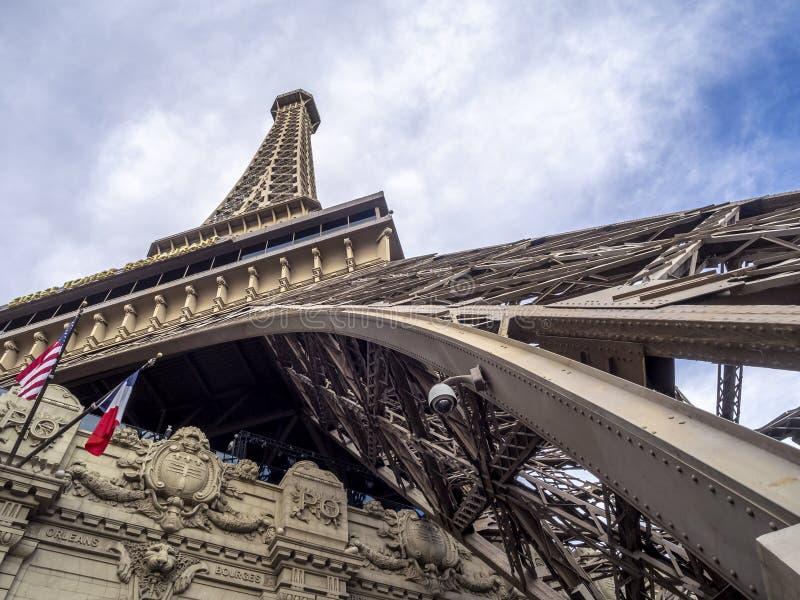 Paris Paris, Las Vegas stock images