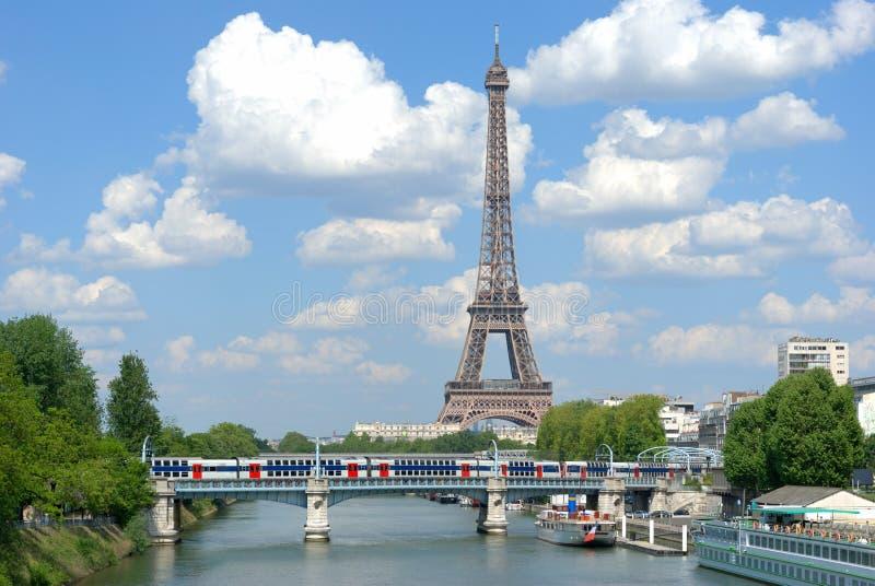 paris lato zdjęcie stock