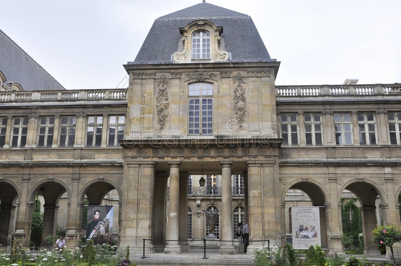 Paris, le 19 juillet : Bâtiment historique de plaza de Vendome de Paris dans les Frances images stock