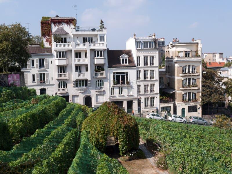 Paris - les jardins consacrés à Auguste Renoir entourent le musée de Montmartre photos libres de droits