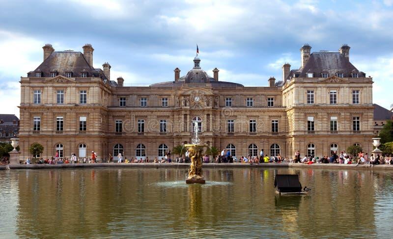 Paris-- Luxemburg-Palast stockfotografie