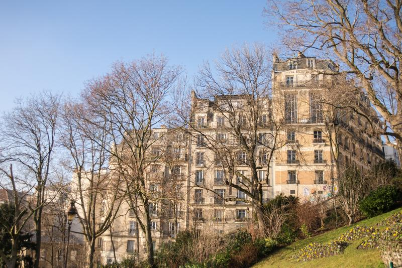Paris, Montmartre photos libres de droits