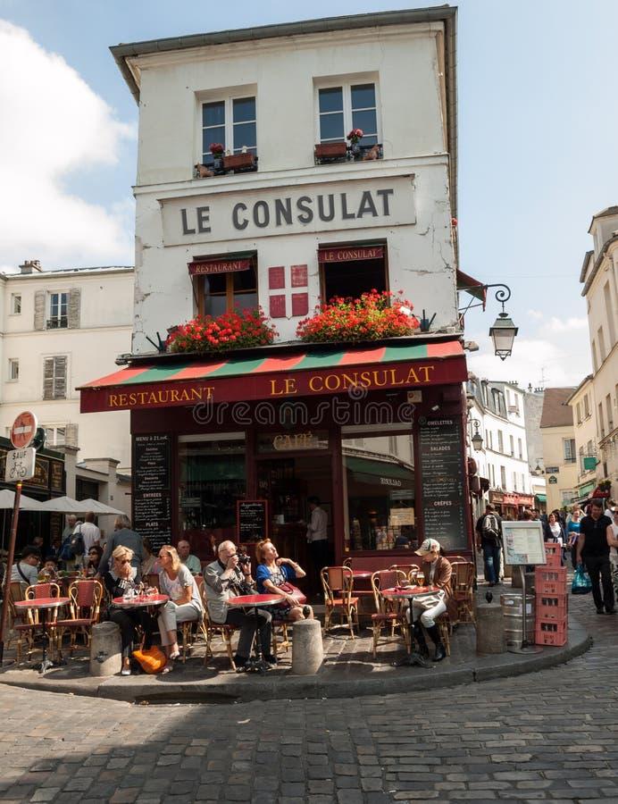 paris Montmartre obraz royalty free