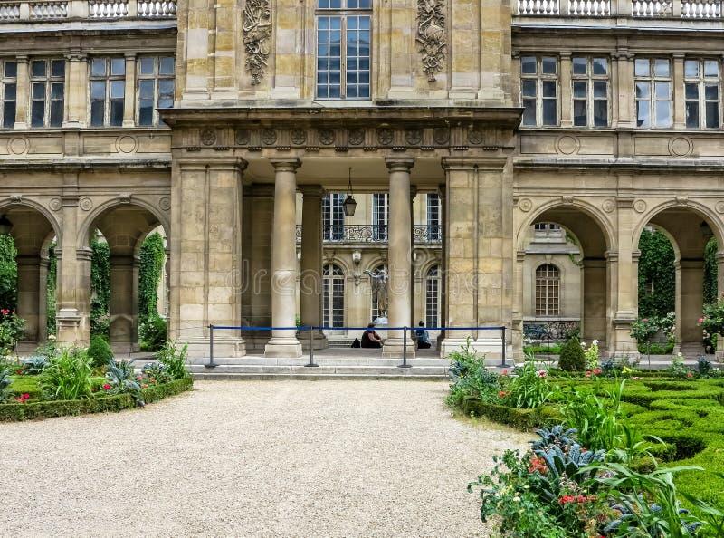 Paris- The Musée Carnavalet, France royalty free stock image