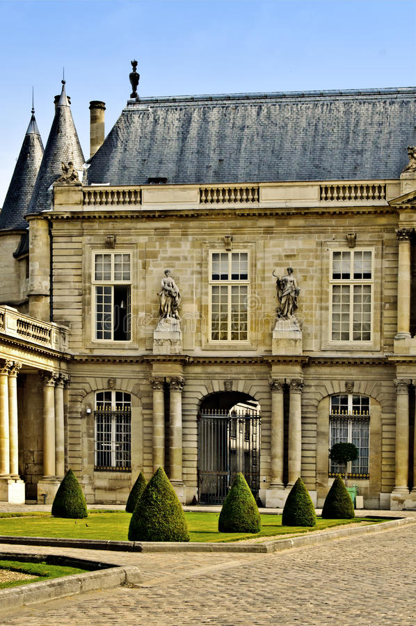 Paris, National Archives of France royalty free stock image