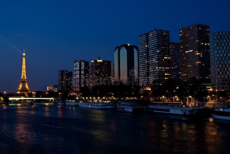 Download Paris at night editorial image. Image of europe, french - 21572965