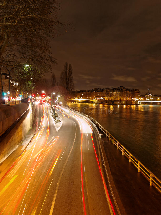 Download Paris By Night Stock Images - Image: 28352534
