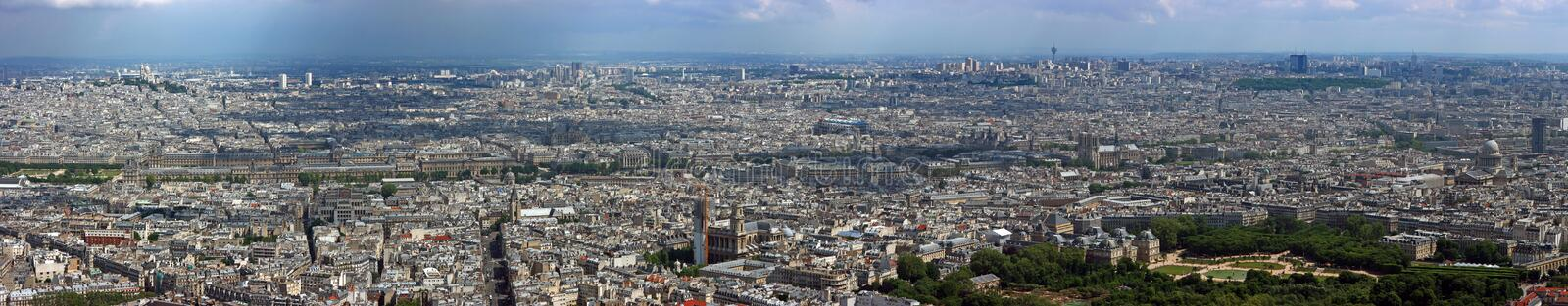 Download Paris North Aerial Panorama Stock Image - Image of park, luxembourg: 7099679