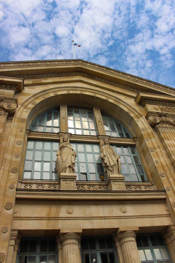 Paris North Station, Gare du Nord in Paris stock images
