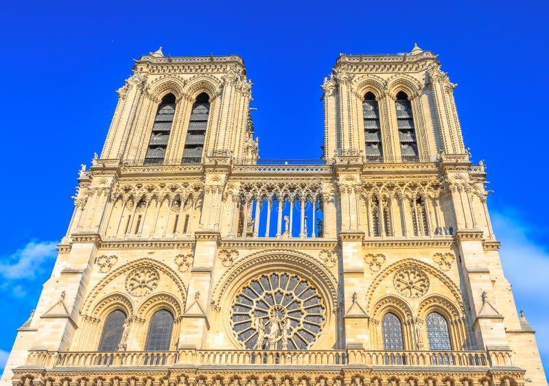 Paris Notre Dame arkivbild