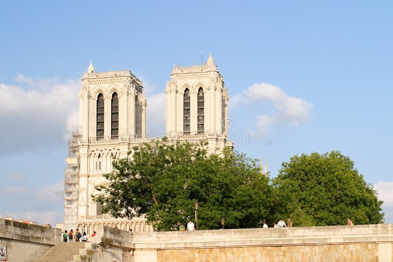Paris - Notre Dame stock photography