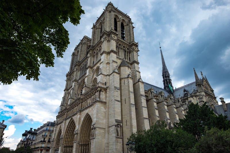 Paris Notre Dame 5 royaltyfri bild