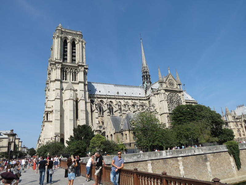 Paris, Notre Dame royalty free stock images