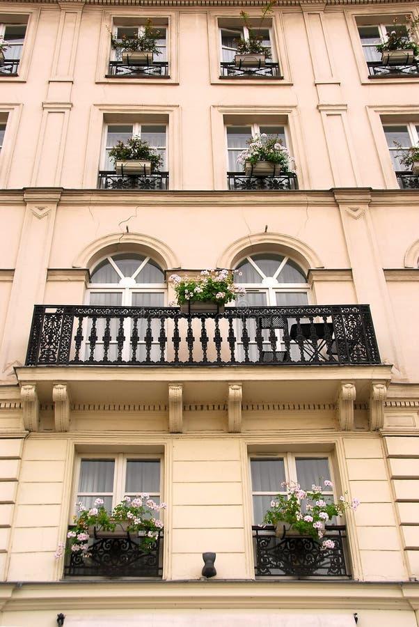 paris okno obrazy royalty free