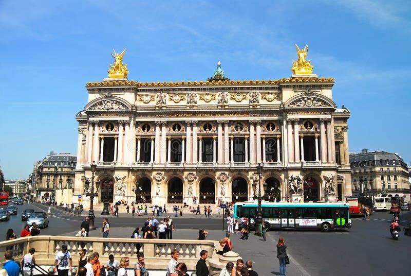Paris-Oper Académie Royale Nationale de Musique stockbild