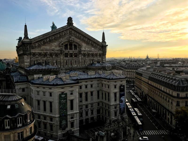 Paris-Oper Garnier stockbilder