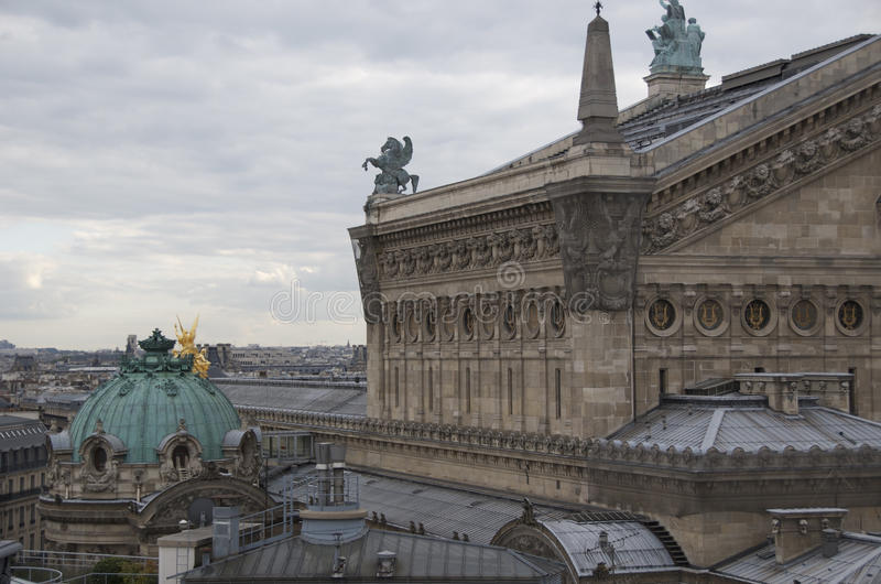 Download Paris Opera House stock image. Image of roof, architecture - 21074885