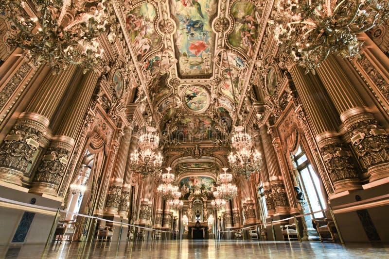 Paris Opera house in Paris, France royalty free stock image